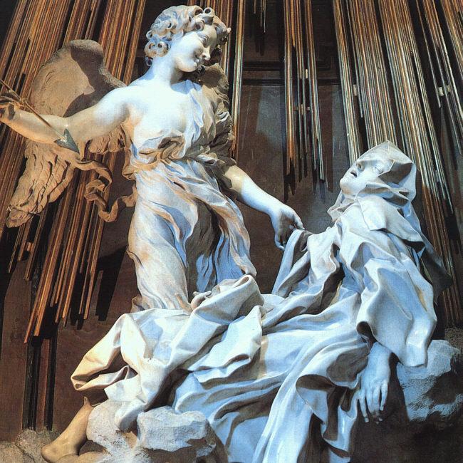 Bernini Ecstasy of St. Theresa Detail