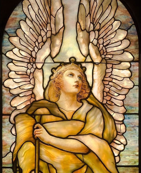 Detail Frederick Wilson Angel of the Resurrection