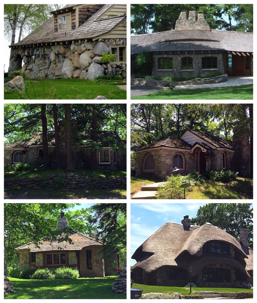 Earl Young houses of Charlevoix