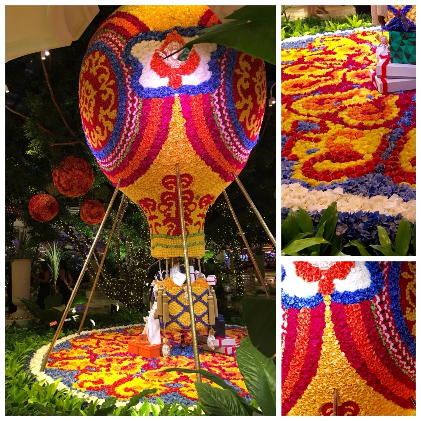 The Wynn's Floral Hot Air Balloon