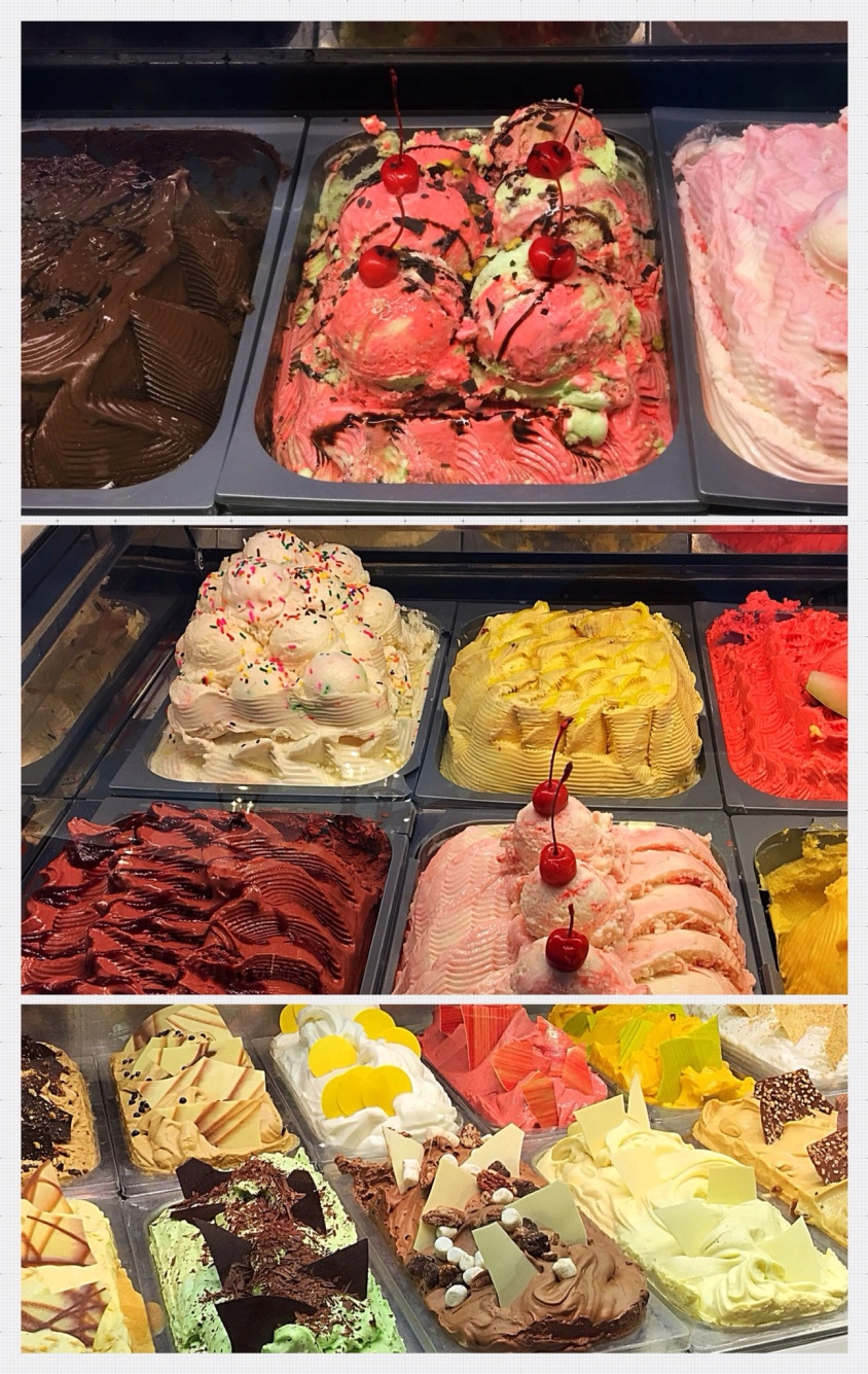 Las Vegas Gelato Collage (Attached/Feat.)