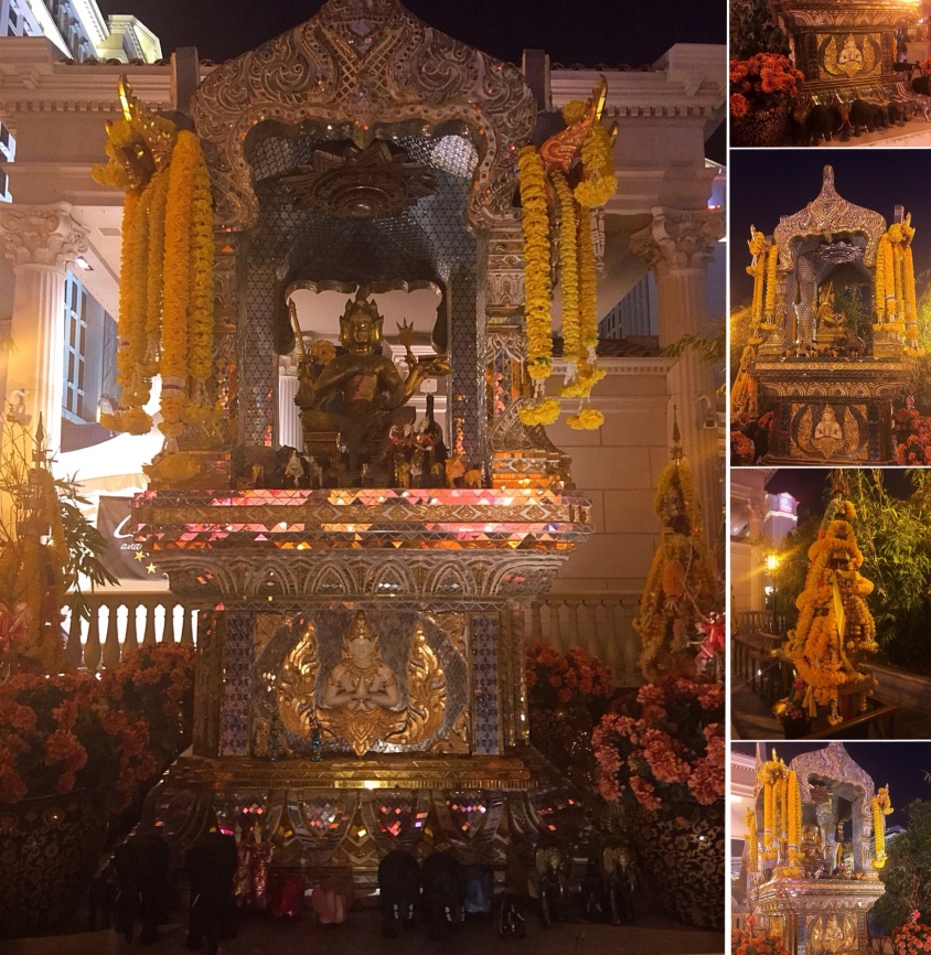 Brahma Shrine (Collage) (Featured/Attached)