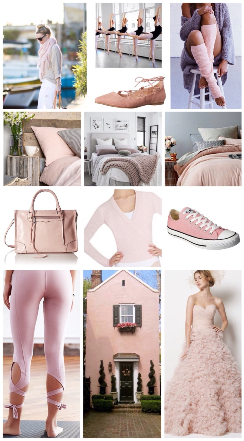 Inspired by ballet pink