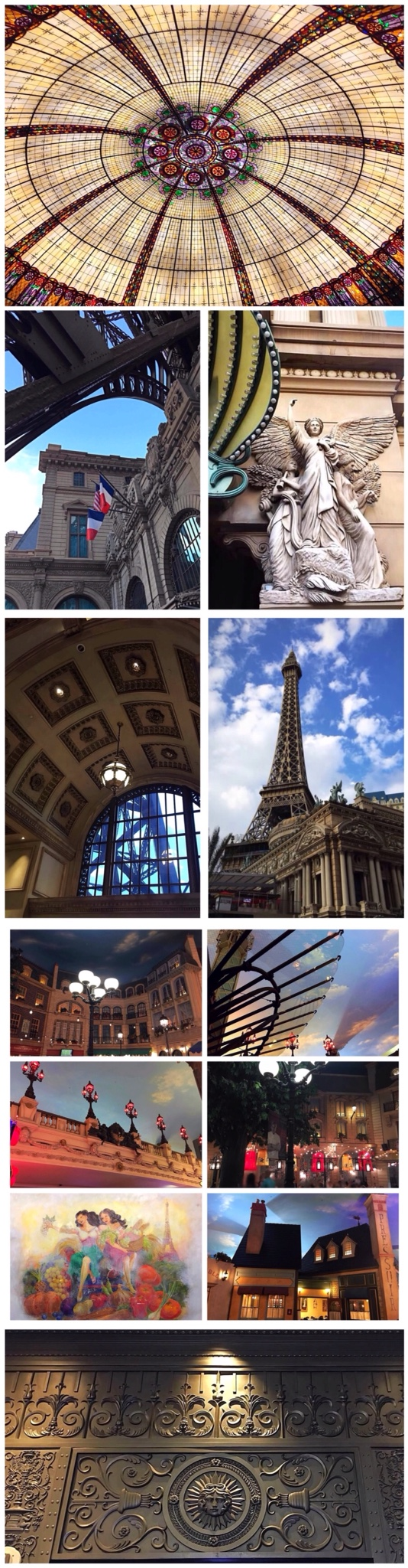 Paris Las Vegas photo montage
