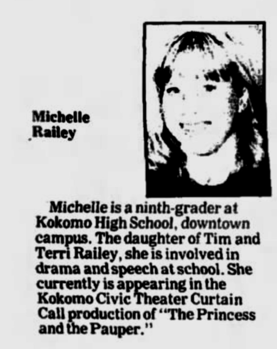 Michelle Railey, 1989-1990