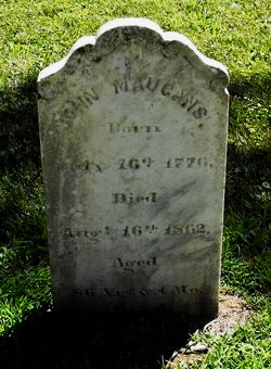 John Maugans 1776-1862