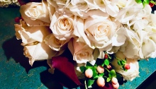 Wedding bouquet/flowers